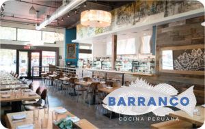 Barranco gift card